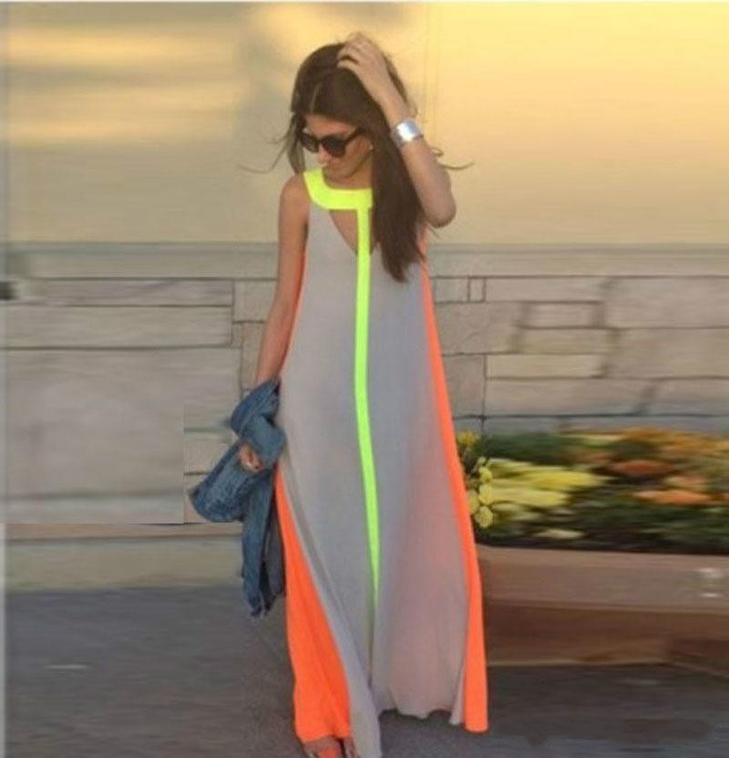 Bright Maxi Dresses Dgt Casual dresses are the most commonly seen dresses for women among all  clothing. A pair of dress evening can make woman look soft and charming  more than any ...