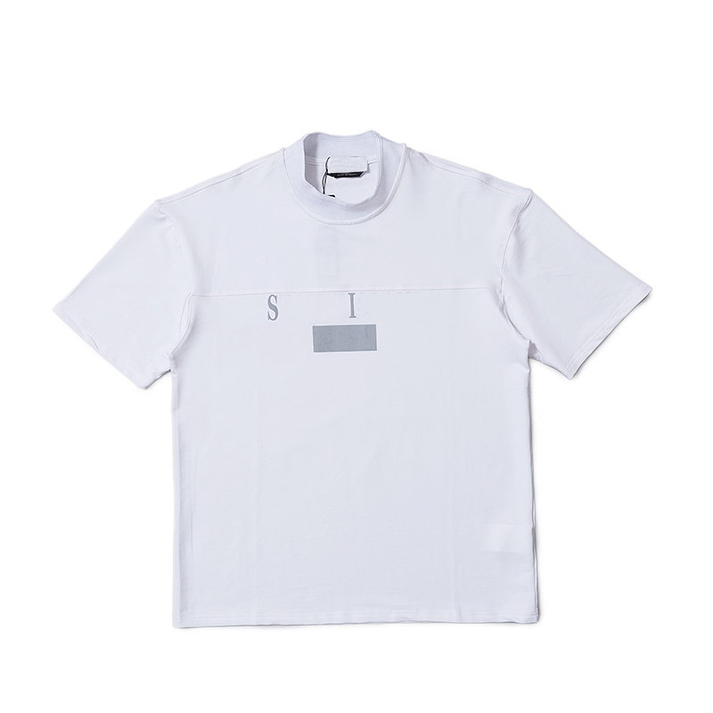 Tops & Tees T-shirts Reasonable 2019 Summer Mens Tshirt Linen Cotton O-neck Hip Hop White Line Printed T Shirt Short Sleeve Streetwear Top Tee Up-To-Date Styling