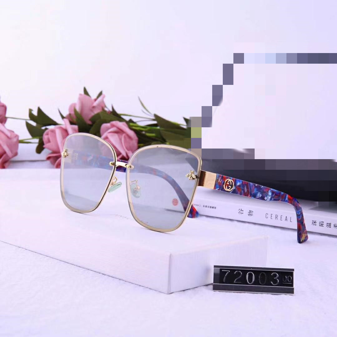 Luxury Sunglasses Designer Sunglasses Fashion Brand G for Woman Glasses Driving UV400 Grace with Box Little Bee Style High quality