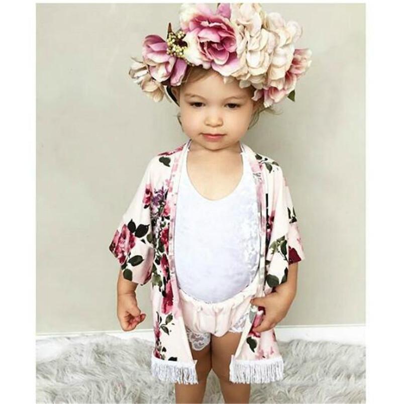 b3291de79 Fashion Baby Girl Clothes Cute Summer Thin Coats Toddler Girls ...