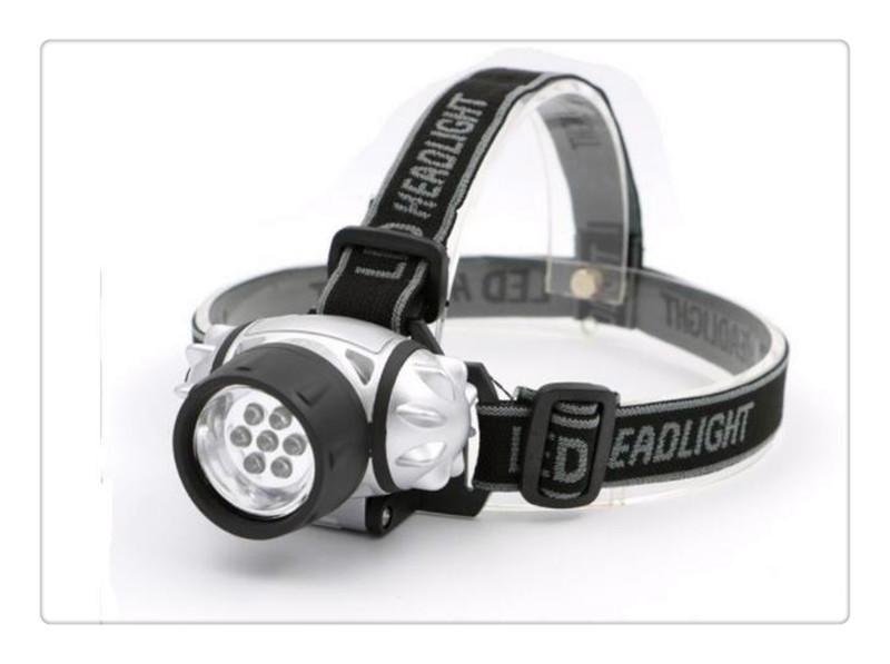 Head Band Flash Light LED Headlamp Waterproof Flashlight Headband Torch Lamp HOT