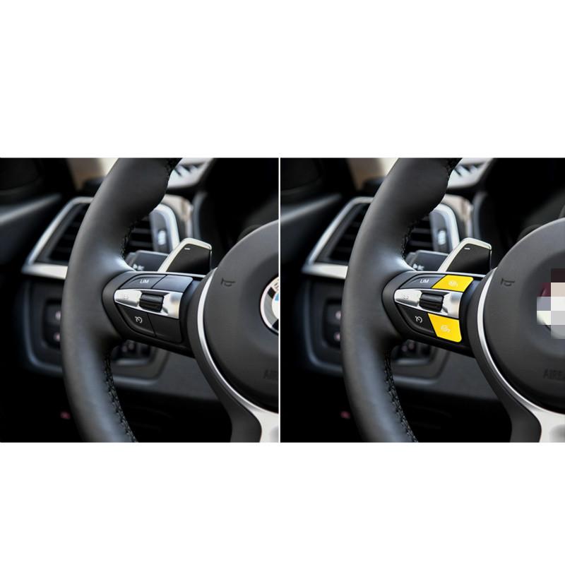 Adecuado for BMW F30 F34 F15 F16 2014-2018 Parte del volante Direcci/ón de moda Deportes de ruedas M1 Color : Red M2 Moda interruptor de bot/ón de ajuste de la cubierta