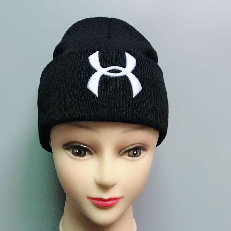 c9e4fda1ca1 Unisex UA Knitted Hats Winter Under Beanies Men Women Skull Caps ...