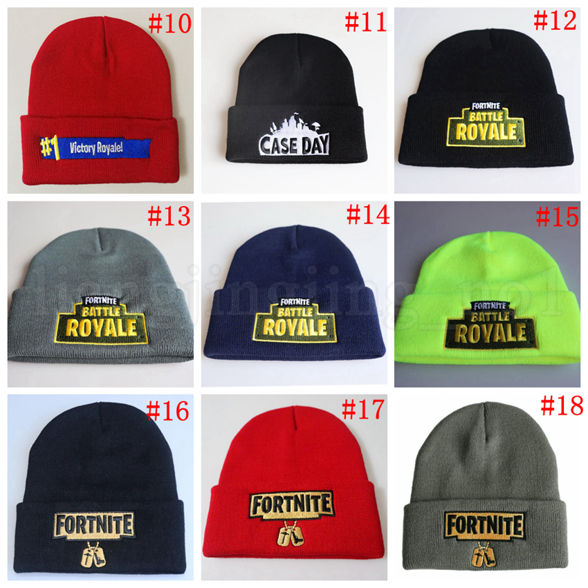 2018 Fortnite Cosplay Beanie 29 Styles Baseball Cap Battle Royale ... f2a195137f3e